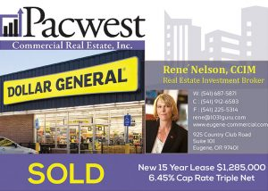 Pacwest Commercial Real Estate Matches 1031 Client With Newly-Built Building Featuring a Corporate Guarantee