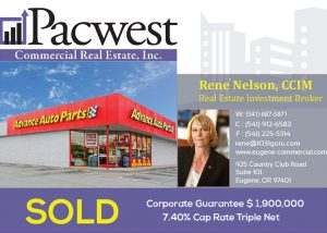 Pacwest Commercial Real Estate Closes Purchase of a Single-Tenant Net Lease Property for a 1031 Client