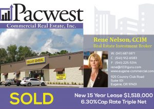 Pacwest Commercial Real Estate Helps 1031 Buyer Acquire a 9,100 sf Single Tenant Fully-Leased Building