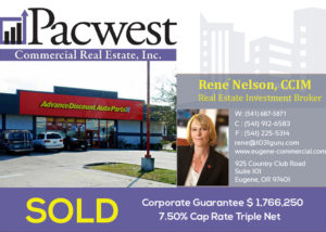 Pacwest Commercial Real Estate Closes Purchase of a 7.5% Cap Rate Property for a 1031 Buyer