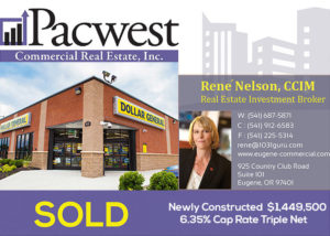 Pacwest Commercial Real Estate Matches a 1031 Buyer to a Triple Net Property with Corporate Guarantee