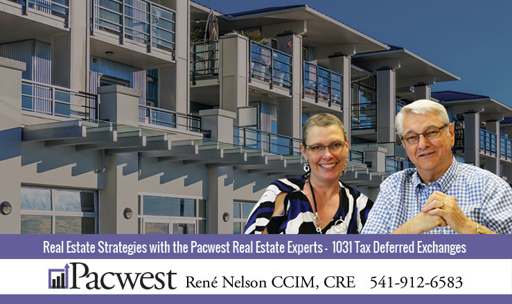 Pacwest Real Estate Experts - 1031 Tax Deferred Exchanges