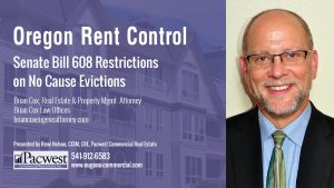 01 Senate Bill 608 Restrictions on No Cause Evictions