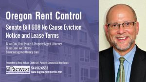 02 Senate Bill 608 No Cause Eviction Notice and Lease Terms