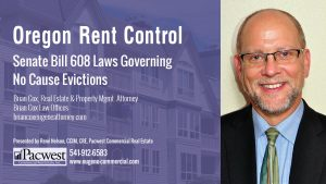 03 Senate Bill 608 Laws Governing No Cause Evictions