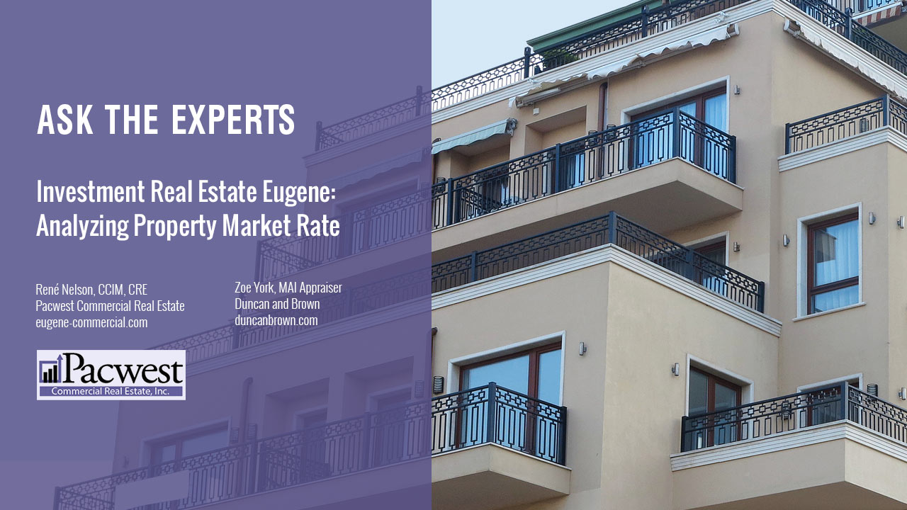 Investment Real Estate Eugene Analyzing Property Market Rate