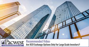 Are 1031 Exchange Options Only For Large-Scale Investors?