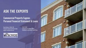Commercial Property Eugene Personal Financial Statement Loans