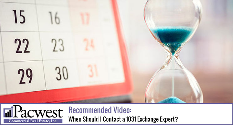 When Should I Contact a 1031 Exchange Expert?